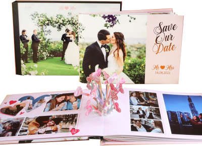 Photobook Wedding 3D Pop Up